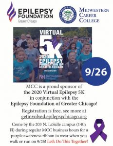Epilepsy Foundation of Greater Chicago Virtual 5K