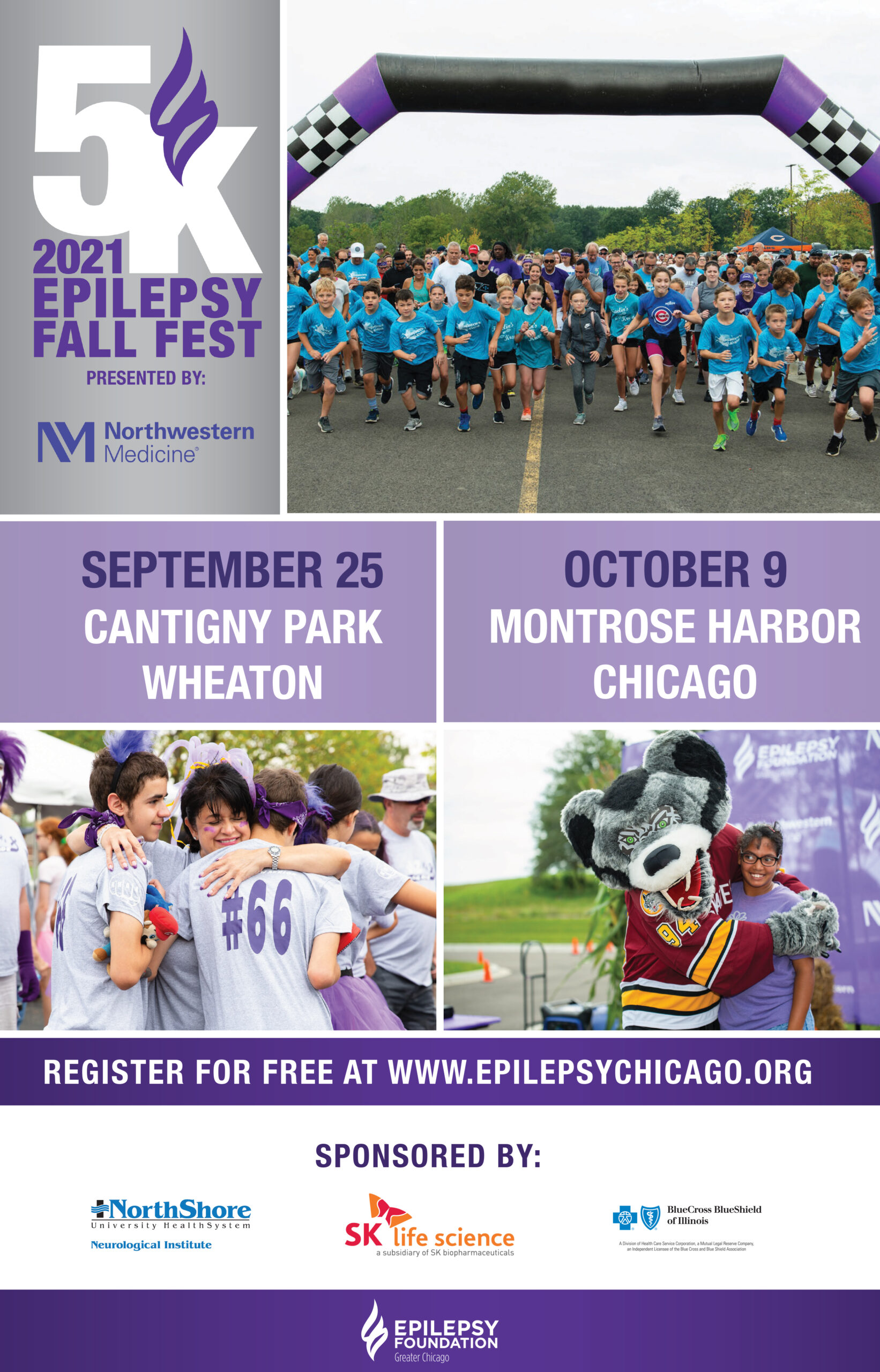 MCC and Epilepsy Foundation of Greater Chicago 5K