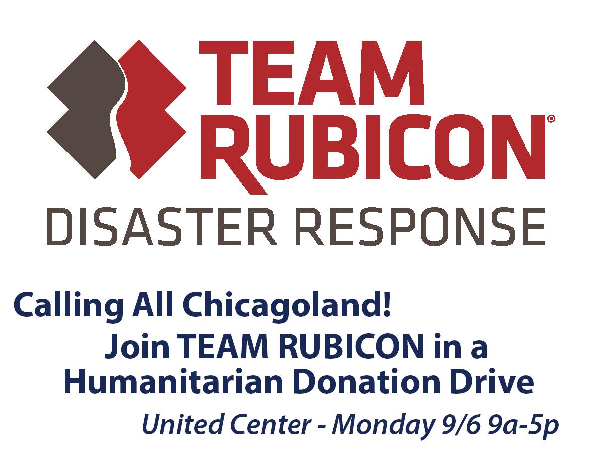 Team Rubicon Donation Event Labor Day 2021